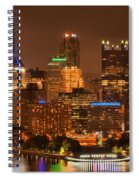 Reflections Of Pittsburgh Spiral Notebook