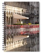 Reflections Of Saint Mark's Square -day Spiral Notebook
