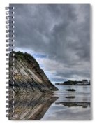 Reflections Of Tenby 2 Spiral Notebook