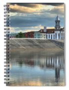 Reflections Of The Courthouse Spiral Notebook