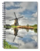 Reflections Of Wndmills Spiral Notebook