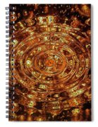 Reflections Of Yellow Spiral Notebook