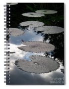 Reflections On A Lily Pond Monet Spiral Notebook