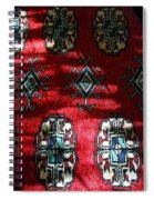 Reflections On A Persian Rug Spiral Notebook