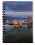 Reflections On Mono Lake 1 Spiral Notebook