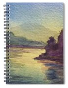Reflections On North South Lake Spiral Notebook