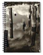 Reflections On The Bayou Villere La  Dsc05423 Spiral Notebook