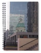 Reflections On The Past Spiral Notebook
