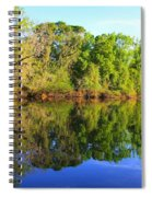 Reflections On The River Spiral Notebook