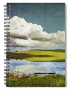 Reflections On Watership Down Spiral Notebook