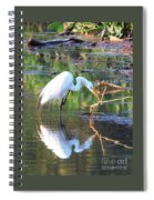 Reflections On Wildwood Lake Spiral Notebook