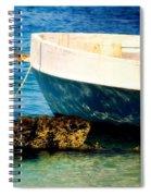 Reflective Bow Spiral Notebook
