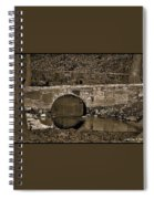 Reflective Bridge Spiral Notebook