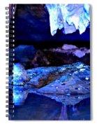 Reflective Cavern Spiral Notebook