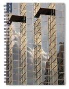 Reflective Coating Spiral Notebook