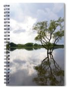 Reflective Flood Waters Spiral Notebook