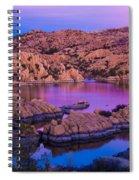Reflective Good Morning Spiral Notebook