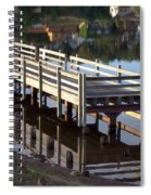Reflective Perspective Spiral Notebook