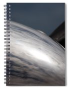 Reflective Power Spiral Notebook