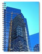 Reflective Towers Spiral Notebook