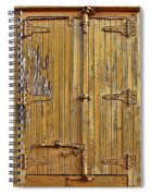 Refrigerated Boxcar Door Spiral Notebook