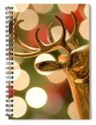 Regal Reindeer Spiral Notebook