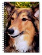 Regal Shelter Dog Spiral Notebook