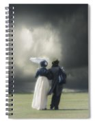 Regency Couple Spiral Notebook