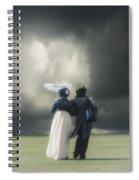 Regency Couple Spiral Notebook