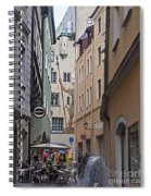 Regensburg Germany  Spiral Notebook