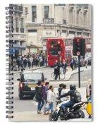 Regent Street London Spiral Notebook