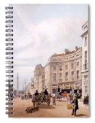 Regent Street, Looking Towards The Duke Spiral Notebook