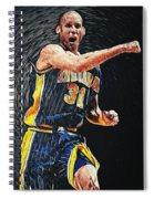 Reggie Miller Spiral Notebook