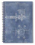 Regulator For Dynamo Electric Machine Patent Spiral Notebook