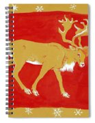 Reindeer Spiral Notebook