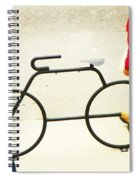 Relationship With A Bike Spiral Notebook