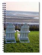 Relax And Enjoy Spiral Notebook
