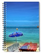 Relax On The Beach Spiral Notebook