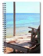 Relax Porch Spiral Notebook