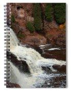 Relaxing Autumn Falls Spiral Notebook