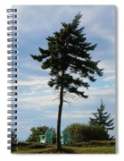 Relaxing By The Sea Greeting Card Spiral Notebook