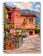 Relaxing In Baveno Spiral Notebook