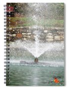 Relaxing In The Park Spiral Notebook