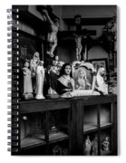 Religion And The Curio Shop Spiral Notebook