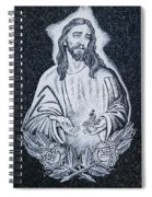 Religious Icons In Spanish Cemetery Spiral Notebook