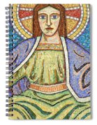 Religious Mosaic 04 Spiral Notebook