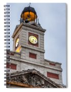 Reloj De Gobernacion 2 Spiral Notebook