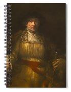 Rembrandt Self Portrait Spiral Notebook
