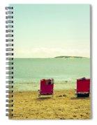 Remember Summer Spiral Notebook