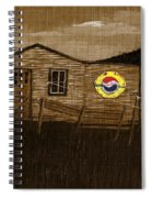 Remember When - Old Pepsi Sign Spiral Notebook